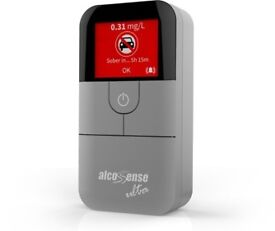 Alcosense Ultimate Breathalyzer with 100 mouthpieces