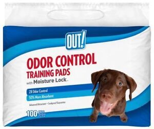 OUT! Odour Control Training Pads for Dogs (Pets)