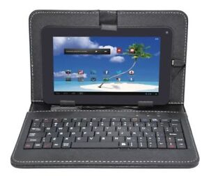 """Proscan 7"""" 8GB Android Tablet with Case & Keyboard"""