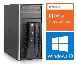 Hp 6000 pro : Core2 Quad Q9400: 2.66GHZ, 8GB RAM, HD 500GB :165$