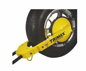 TRIMAX - BARRURE DE ROUE / TRAILER WHEEL LOCKS