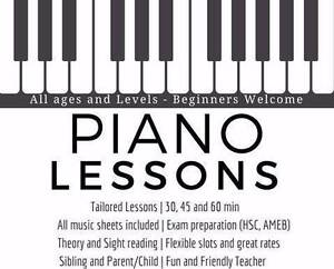 Piano Lessons All ages and levels. Materials Included* Free Trial Hurlstone Park Canterbury Area Preview