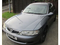 Vauxhall Vectra LS 1.8LTR,2001
