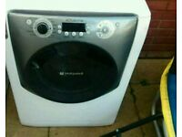 White hotpoint 10kg super silent washing machine