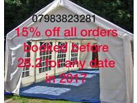 Marquee to hire from £69 plus 15% OFF limited time offer