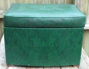 Footstool, storage box Cambridge Kitchener Area image 1