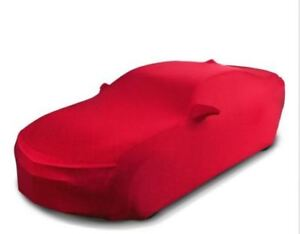 GM 23457479 OEM Premium Red Indoor Dust Car Cover Soft Lining  +