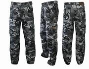 Camouflage Motorcycle Trousers