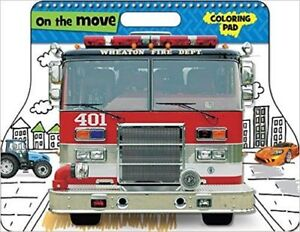 ON THE MOVE - Large Colouring Pad (NEW)