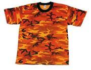 Orange Camo Shirt