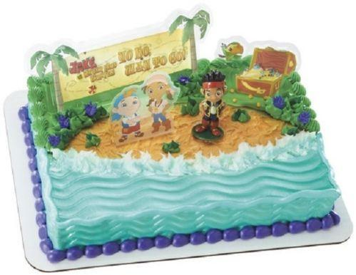 Spongebob Pirate Cake Toppers