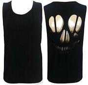 Cut Out Skull Back Top