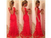 Brand new red dress (size medium)