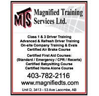 Class 1 & 3 Driver Training in Lacombe