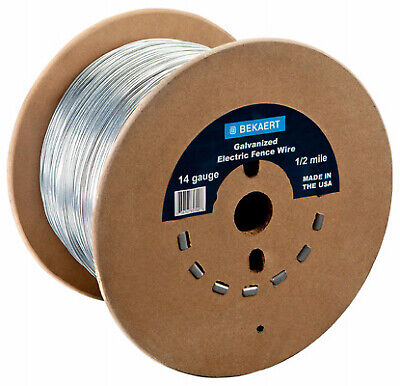 14-gauge Electric Fence Wire 1320-ft.