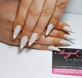 Nail home manicure penticure gel agrylic shellac.