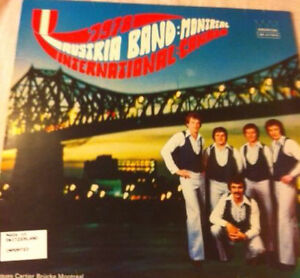 Vinyl signed by Austria band international Montreal canada 1978