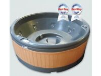Hot tub with lid unused guaranteed uk built 5 person