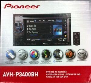 Pioneer-Double-DIN-Multimedia-DVD-Receiver-AVH-P3400BH-BRAND-NEW-AVHP3400BH-NEW