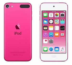 Ipod Touch 6thGen - 32GB - Pink with Rose Gold Case