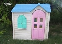Want to buy a outdoor play house 4-8 yo girl reasonable price