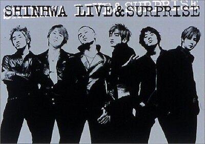 SHINHWA Live & Surprise JAPAN EDITION DVD 2003 AVBD-18042 K-POP SHIN HYESUNG