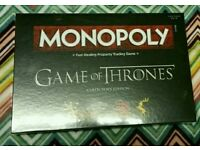 UNOPENED BRAND NEW SEALED Game of Thrones Monopoly - Collector's Edition.
