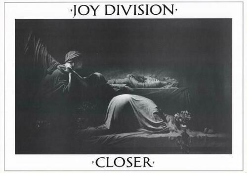 "JOY DIVISION ""Closer"" Art Poster  NEW 24x33 inches Ian Curtis, New Order, NICE!"