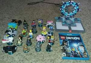 Lego dimensions with lots of extra pieces