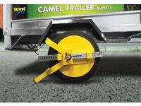 """New Unused Full Face Wheel Clamp for 8-10"""" wheel for Trailer, trailer tent, snack van, boat jetski"""