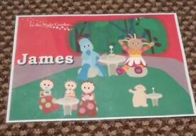 James In the night garden place mat