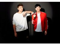2 DAN AND PHIL YOU TUBERS TICKETS 22ND MAY EXCELLANT SEATS BIRMINGHAM SELLING AT FACE VALUE