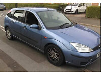 2001 1.8TDCI ford focus with MOT UNTIL AUGUST 2017
