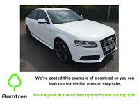 Audi A4 2.0 TDI Technik -- Read ad description before replying!!