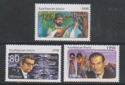 Azerbaijan - 1998, Birth Anniversaries set - MNH - SG 436/8