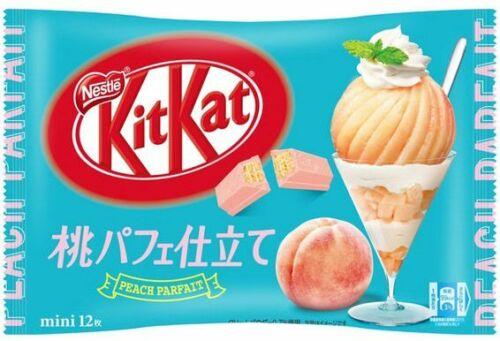Japanese Kit-Kat Peach Parfait KitKat Chocolates 12 bars
