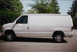 Like New 1993 White Ford 250 Van - Best Offer Accepted