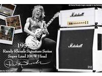 Marshall 1959RR Randy Rhoads Signature Amplifier Head 100W + Matching 4x12 Cab