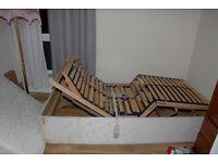 Free Single adjustable bed