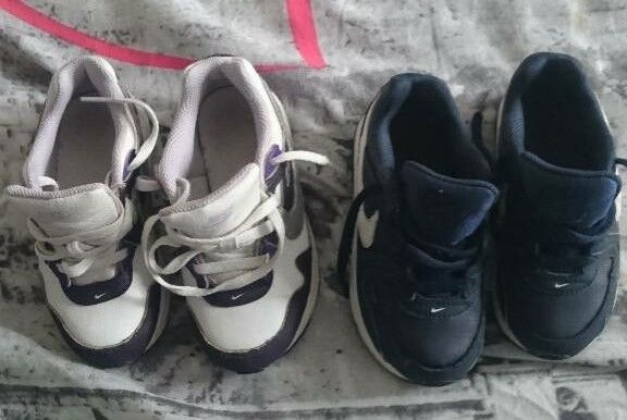 children's shoes air max size 8.5 infant in excellent and still good condition.
