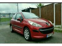 2007 Peugeot 207 low milage full service history