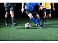 Sunday morning 5-6 a side football