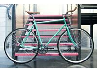 Brand new Hackney Club single speed fixed gear fixie bike/ road bike/ bicycles + 1year warranty qt66