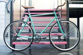 Brand new Hackney Club single speed fixed gear fixie bike/ road bike/ bicycles + 1year warranty eee6
