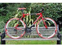 Brand New TEMAN PRO-3.0 aluminium 21 speed hybrid road bike + 1 year warranty + 1 year free service