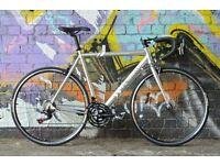 Brand New TEMAN SPEED 1000 aluminium 21 speed racing road bike 1 year warranty year free service )