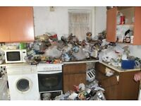 Property clearance & pest control(GARDENS HOUSES FLATS GARAGES PUBS CLUBS AND CLEAN & SPARKLE