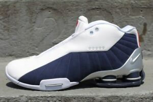 2000 Nike BB4 Shox Vince Carter Shoes - Olympic Color Way