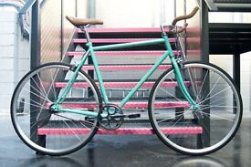 Brand new Hackney Club single speed fixed gear fixie bike/ road bike/ bicycles + 1year warranty mm1w