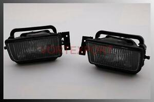 BMW-E34-89-95-Front-Fog-Light-L-R-5-Series-Smoke-Lens
